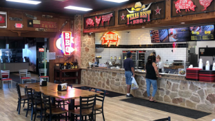 Texas Best Smokehouse interior