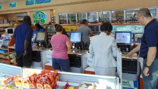 Parker's self-checkout
