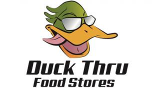 Duck Thru Food Stores logo
