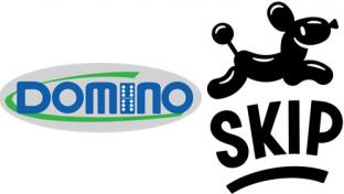 Domino c-store & Skip logos