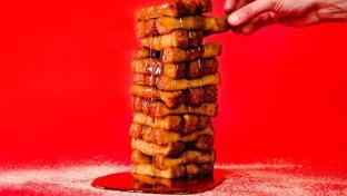 Sheetz' French Toast Stick Mess