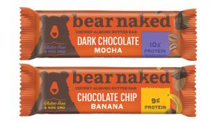 Kellogg's Bear Naked Chunky Almond Butter Bars