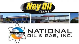 Logos for Ney Oil and National Oil