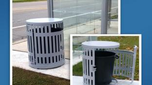 Bridgeline Series Litter Receptacles