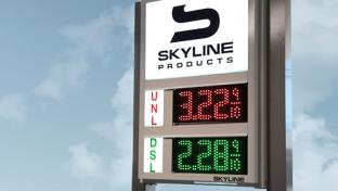 Skyline Products' 6-Inch LED Price Signs