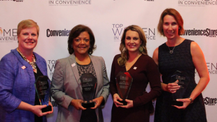 Four of five 2018 TWIC Women of the Year