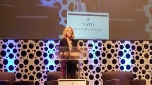Bonnie Herzog at NATO Industry Outlook