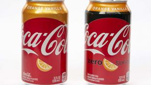 Orange Vanilla Coke & Orange Vanilla Coke Zero Sugar
