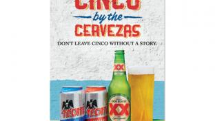 Grab Cinco by the Cervezas promotion