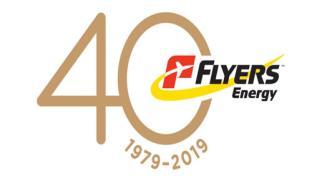 Flyers Energy 40th anniversary