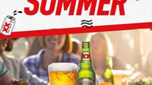 "Dos Equis' ""The Beer that Makes Summer Summer"""