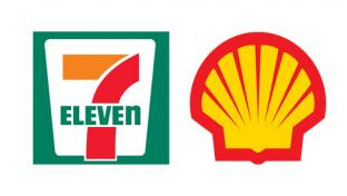 Logos for 7-Eleven Inc. and Shell