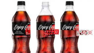 Enjoy Coca-Cola promotion bottles
