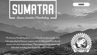 Kinara Sumatra Mandheling blend