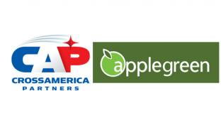 Logos for CrossAmerica and Applegreen