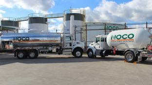 NOCO Energy trucks