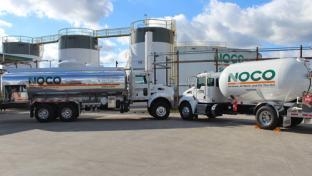 NOCO Energy trucks