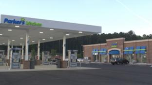 Parker's new convenience store in Pooler, Ga.
