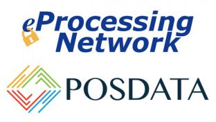 eProcessing Network & POSDATA Group logos