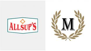 Logos for Allsup's Convenience Stores and Majors Management
