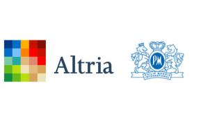Altria Group and Philip Morris International Logos
