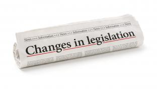 Changes in legislation newspaper headline