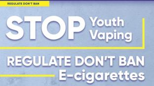 The Coalition for Reasonable Vaping Regulation homepage