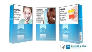 FDA's proposed cigarette pack health warnings
