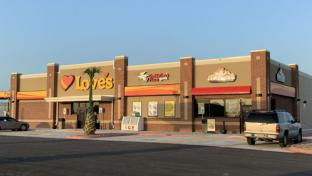 Love's Travel Stop in Brownsville, Texas
