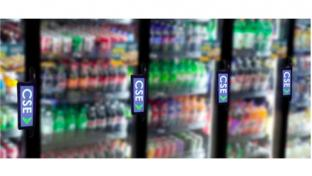CSE Products Inc. Digital Media Marketing Cooler Door Display Handle
