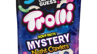 Trolli Sour Brite Mystery Night Crawlers