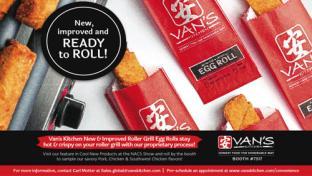 Van's Kitchens Roller Grill Egg Rolls