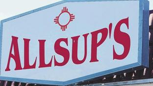 Allsup's convenience store sign