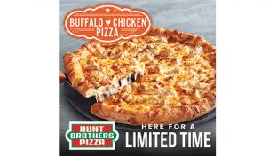 Hunt Brothers Buffalo Chicken Pizza Returns