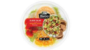 Bistro Slider and Reuben Salads