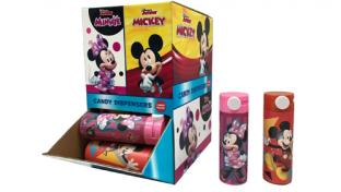 CandyRific Slide Tube Dispensers Featuring Mickey & Minnie Mouse