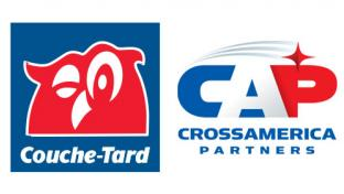 logos for Couche-Tard & CrossAmerica