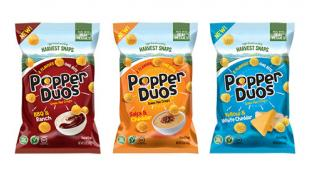 Harvest Snaps Popper Duos Relaunch