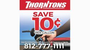 Thorntons savings