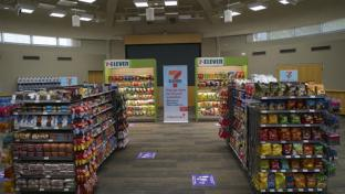 7-Eleven's pop-up convenience store at Children's Health