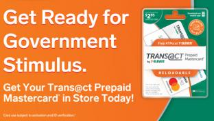 Trans@ct by 7 Eleven Prepaid Mastercard