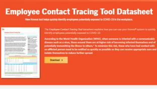 Kronos Inc.'s Employee Contact-tracing Capability