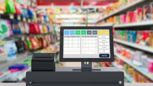 convenience store checkout