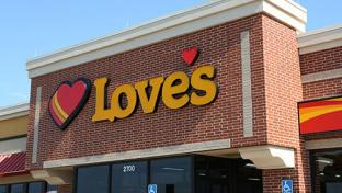 Love's storefront