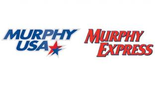 Logos for Murphy USA and Murphy Express