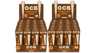 Republic Tobacco OCB Virgin Unbleached Cone Packs