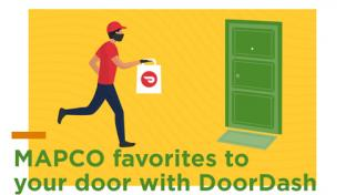 MAPCO partners with DoorDash