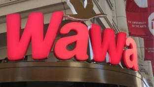Wawa convenience store in Center City, Philadelphia