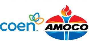 Logos for Coen Markets and Amoco