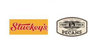 Logos for Stuckey's and Front Porch Pecans
